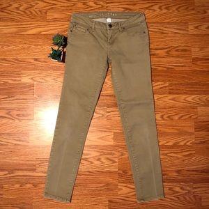 Stretchy Khaki Tan Skinny Jeans